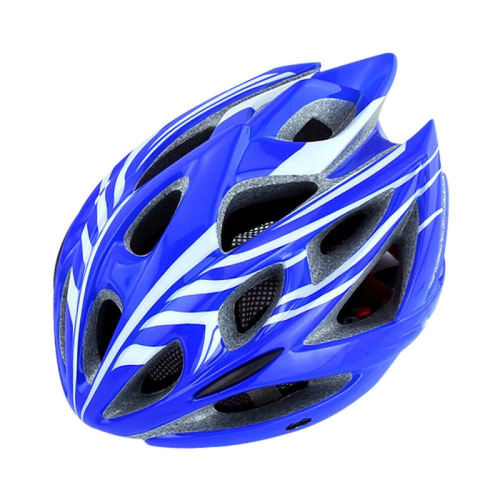 RAQ Casque Extérieur Casque De Vélo EPS Léger Confortable À La Mode Ventilé Sécurité Quatre Saisons Casque Neutre Convient pour la circonférence de la tête (56-62CM) (Couleur : A)