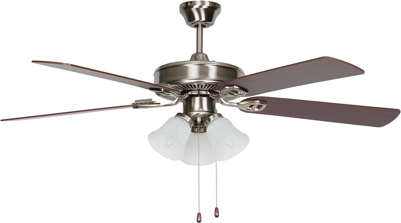 Concord Fans 52hehz5est fácil colgar ventilador 52 Inch, 52 ...