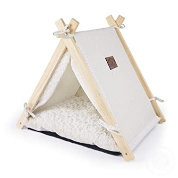 Amazon.com: Pickle & Polly - Cama para perros y gatos con ...