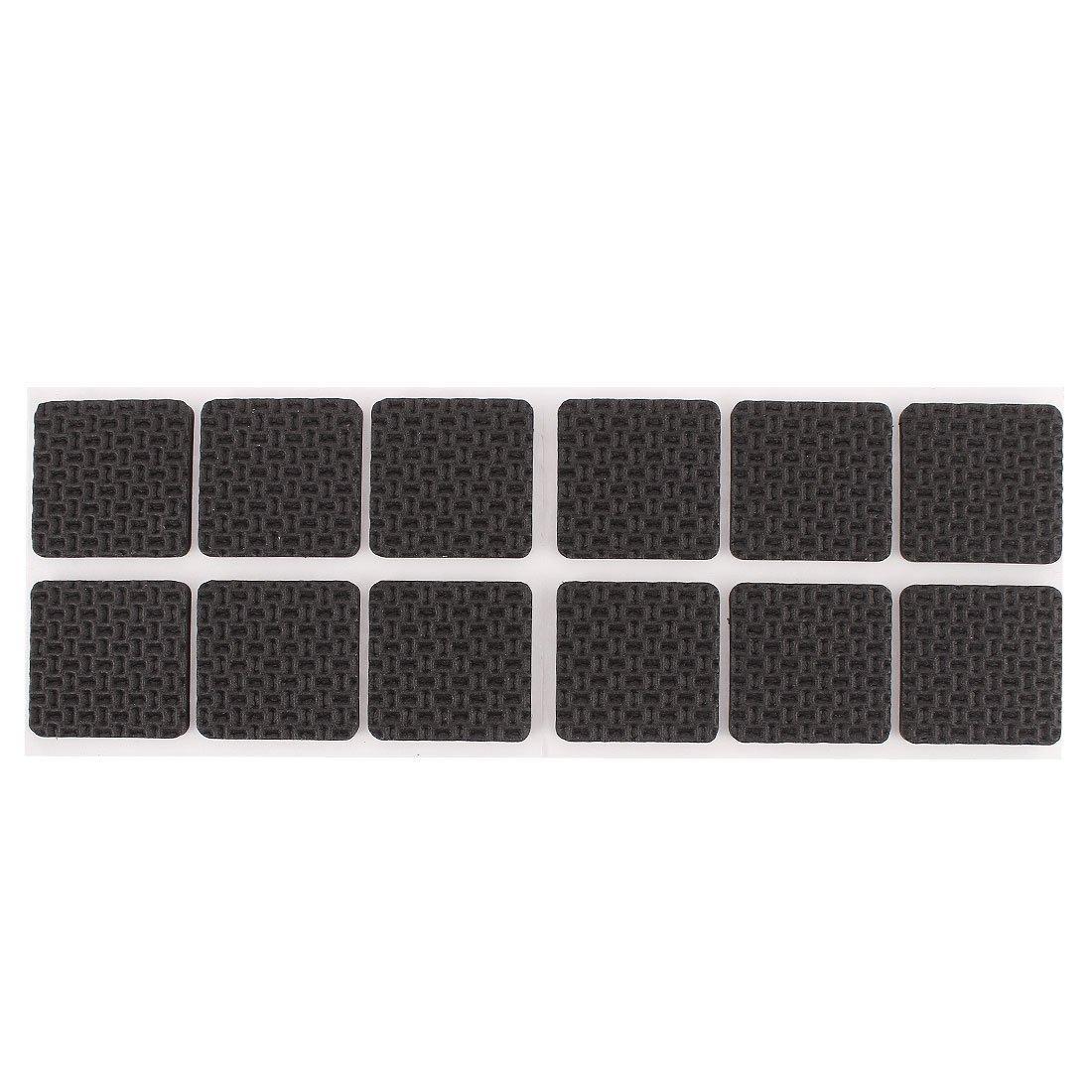 sourcingmap® selbstklebend quadratische Form Möbel Schutz Kissen Pads Matte 12