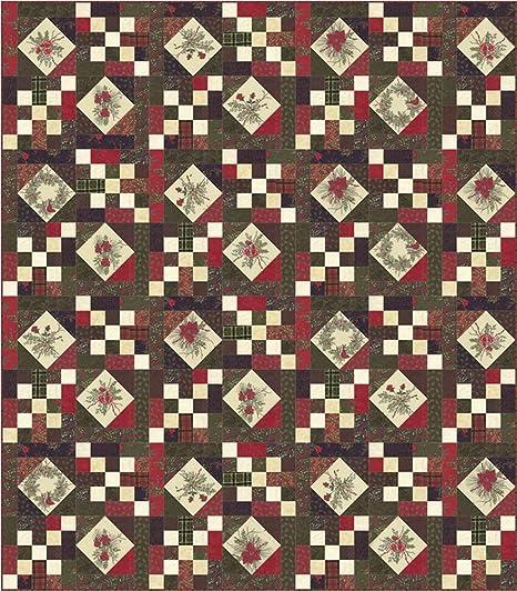 Pino-por la yarda 1//2 6772 14 Tela de Moda ~ Invierno Manor ~ Holly Taylor