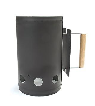 Charcoal Companion Negro Encendedor de carbón para Barbacoa