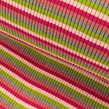 Bündchen Streifen Schlauchware geringelt gestreift Bündchenstoff Bündchenware