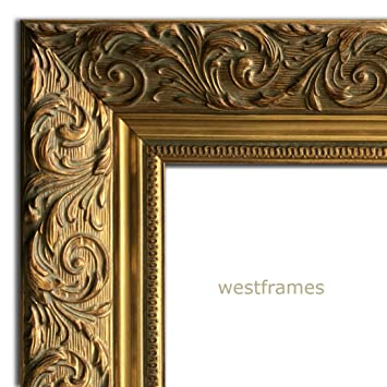 Amazon.com - West Frames Bella Ornate Embossed Wood Picture Frame ...