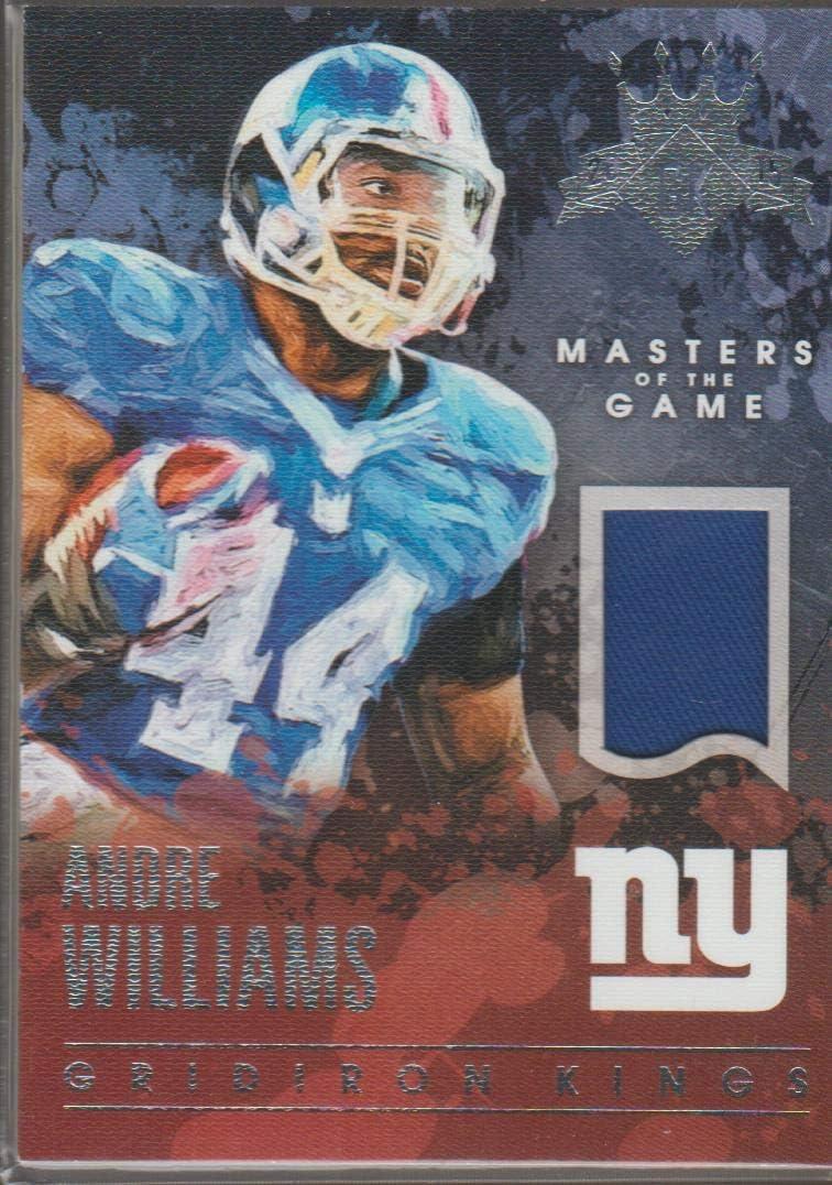 Amazon.com: 2015 Gridiron Kings Andre Williams Giants 192/249 ...