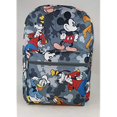 "MICKEY MOUSE - KIDS LARGE 16"" ALL OVER PRINT BACKPACK - 11510 