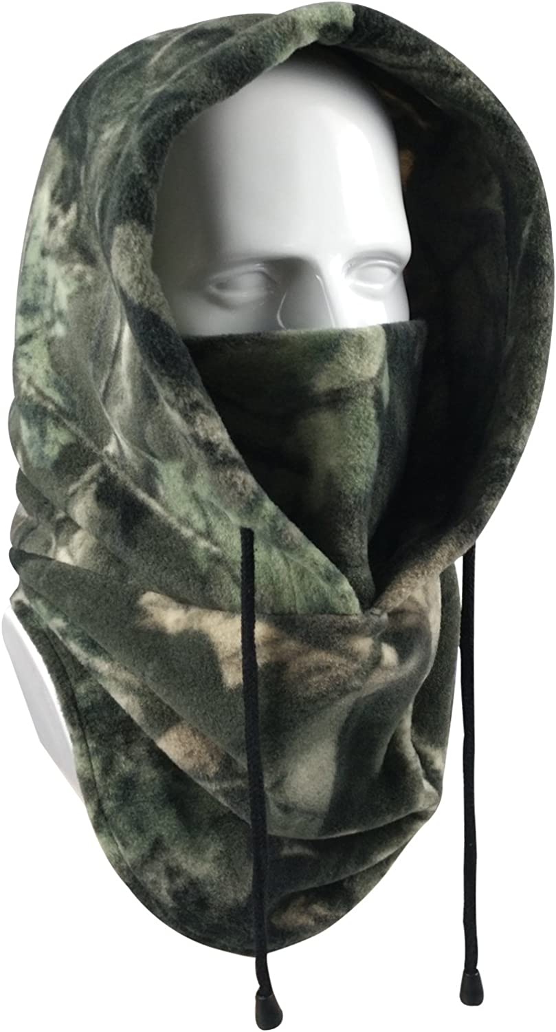 Amazon Com Your Choice Balaclava Face Mask Thick Thermal Fleece Hood Windproof Neck Warmer For Ski Hunting Snowboarding Work Outdoor Winter Sports And Activities Color Camo Clothing