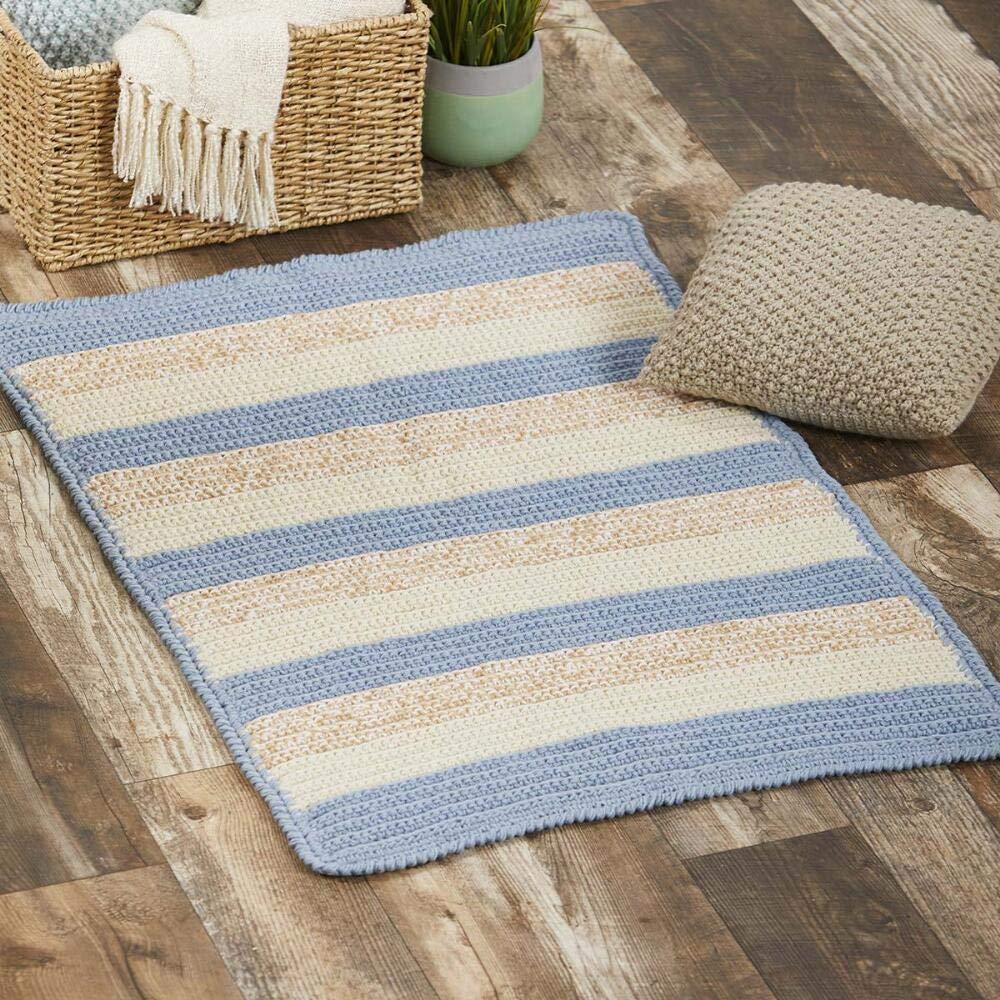 Herrschners® Sand Dunes Rug Crochet Yarn Kit
