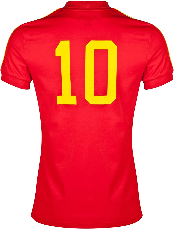 adidas Originals Maillot Retro España Rojo Talla:L: Amazon.es ...