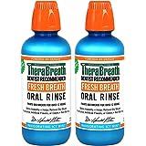 【お買得2本セット】Thera Breath ORAL RINSE 並行輸入品 ミントフレーバー 473ml
