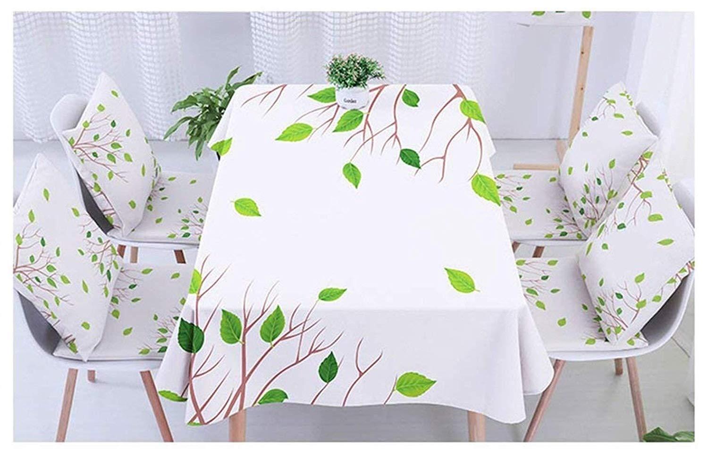 家の装飾布カバー ホームダイニングテーブルテーブルクロス布アートコットンとリネン小さな新鮮なクリエイティブリビングルームコーヒーテーブル防水 テーブルクロス   B07RT4ZT14