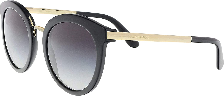 Dolce & Gabbana 0Dg4268, Gafas de Sol para Mujer, Negro (Black), 52