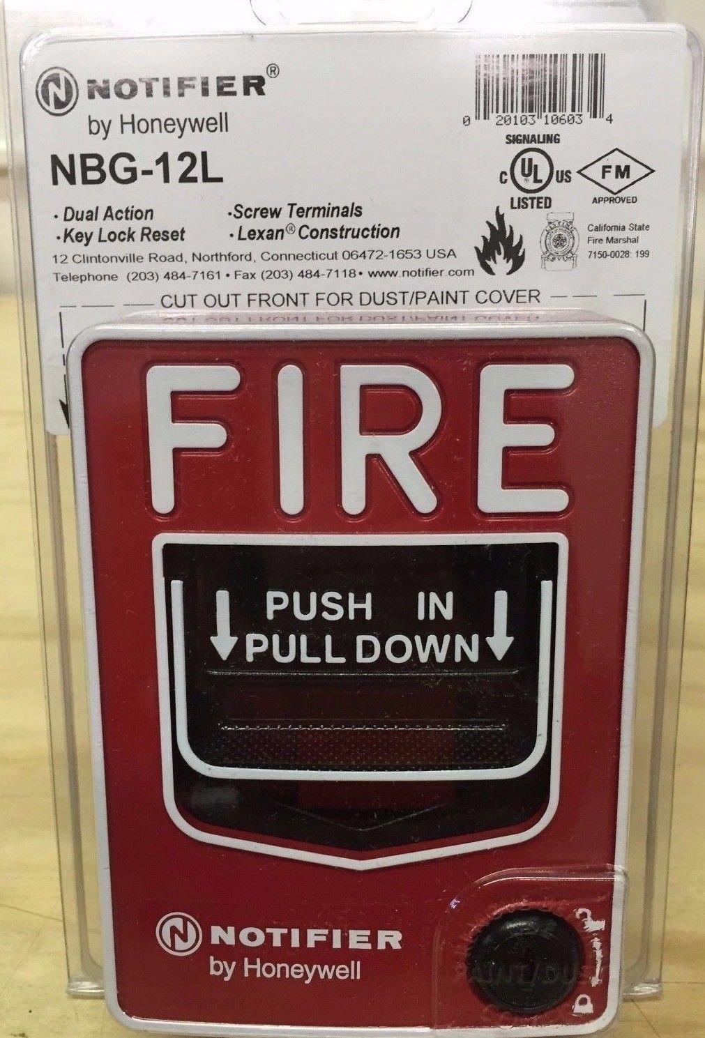 Notificador nbg-12l doble acción Pull estación w/Key Lock: Amazon.es: Bricolaje y herramientas