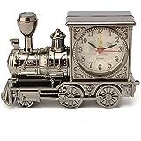 【promozioni】Baban sveglia moda famiglia Locomotiva retrò sveglia regalo/Orologio fumetto creativo