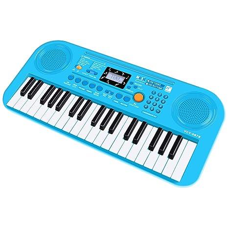 Shayson Piano para niños, 37 Teclas multifunción, Teclado electrónico, Piano, órgano de