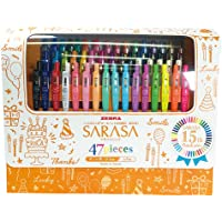 ZEBRA 斑马 凝胶圆珠笔 SARASA CLIP 47色 15周年限定套装 JJ15-47
