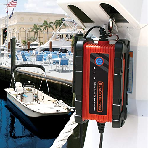 BLACK and DECKER BC6BDW 6A is one of the best BLACK and DECKER battery chargers