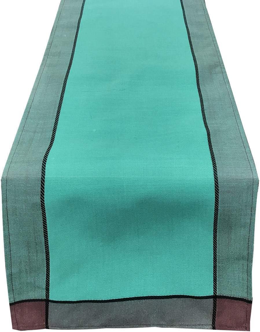 70x104 Tablecloth Sea Green Fennco Styles Maison Beaujard Provencal Design Tablecloth Tablecloths Home Kitchen