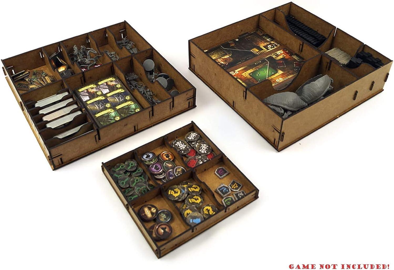 docsmagic.de Organizer Insert for Mansions of Madness: Second Edition Box - Encarte: Amazon.es: Juguetes y juegos