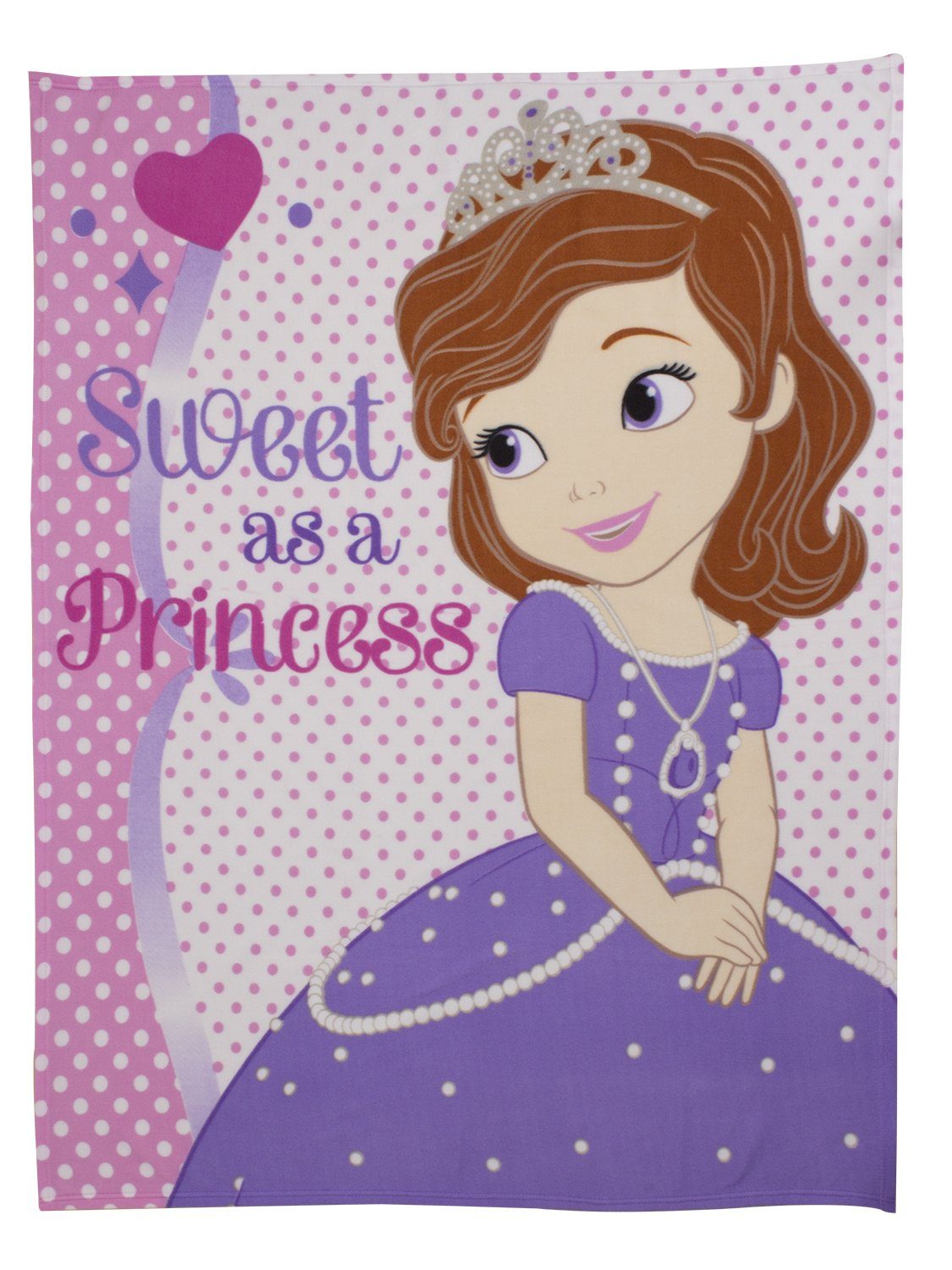 Sofia The First Bedroom Accessories Character World 135 X 200 Cm Disney Sofia The First Amulet Single