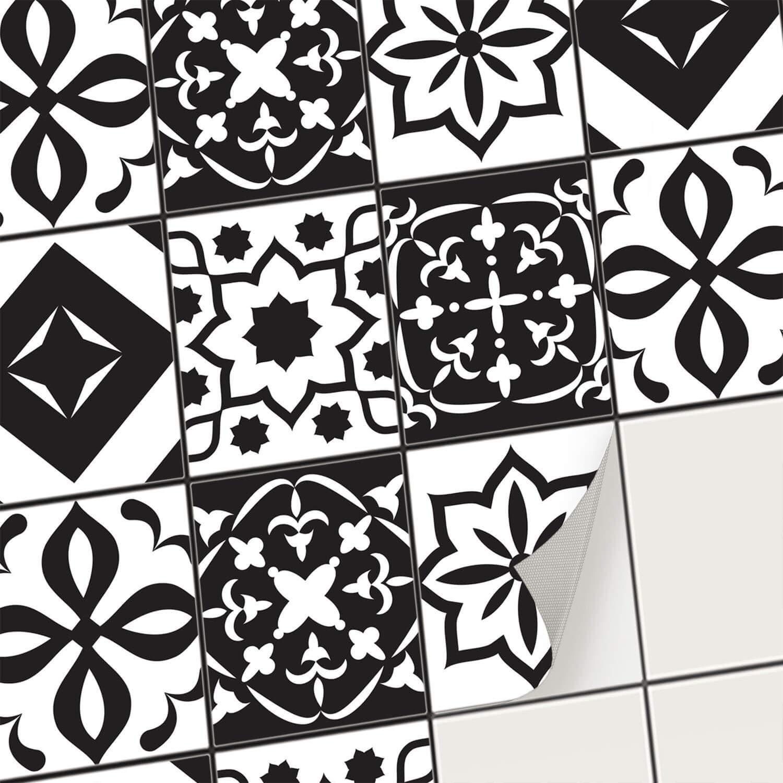 Creatisto Fliesen-Aufkleber Fliesenfolie u. Fliesensticker Fliesensticker Fliesensticker   Dekosticker Badezimmer-Fliesen Küchen-Fliesen selbstklebend - Fliesen renovieren o. Fliesenfarbe   15x15 cm - Motiv Klassisch - 36 Stück fc7f3e