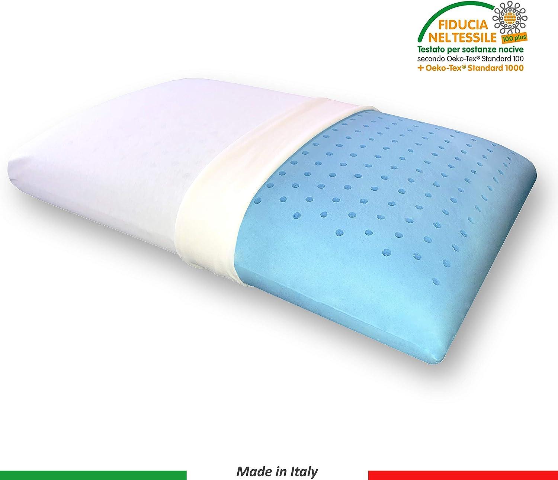 Sana Syntem Memory Foam Pillow Gel Made