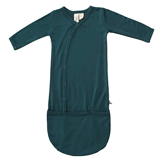 Baby Sleeper Gowns Made of Soft Bamboo Rayon Material KYTE BABY Bundlers 0-6 Months Solid Colors