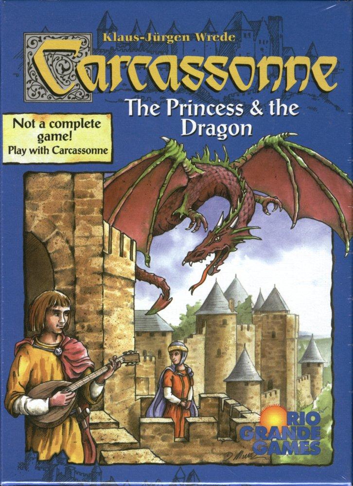 Rio Grande Games 267 - Carcassonne: The Princess and the Dragon
