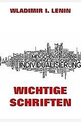 Wichtige Schriften (German Edition) Kindle Edition