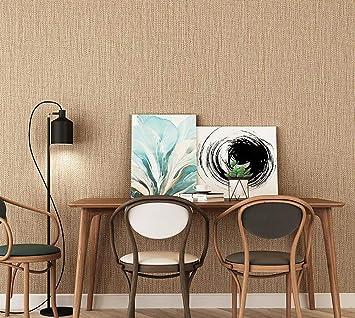 Alger Papier Peint Mural Moderne Simple Lin Salon Gris Chambre Hemp