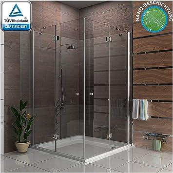 Cabina de ducha esquina. 3078193010 métrica 140 x 140 cm, Vidrio ...