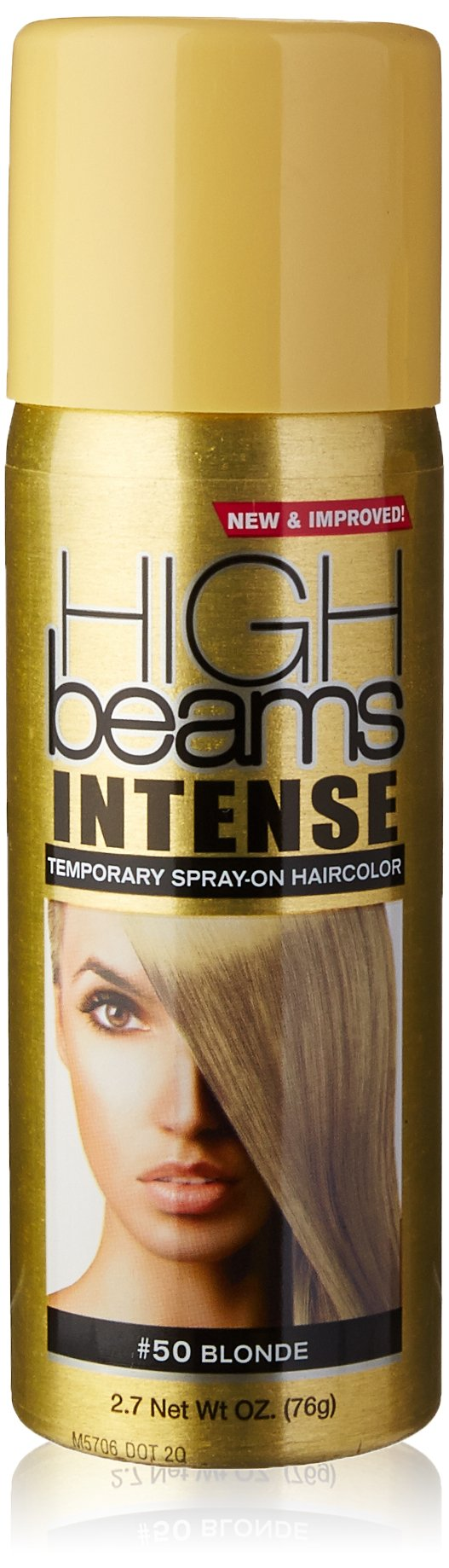 Amazon High Beams Intense Temporary Spray On Hair Color Gold