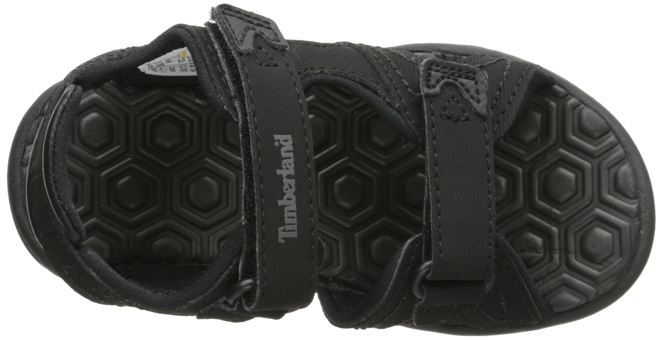 Timberland Adventure Seeker Two-Strap Sandal (Toddler/Little Kid),Blackout,9 M US Toddler by Timberland (Image #8)