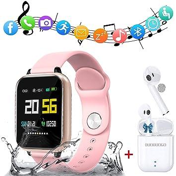 Smartwatch y Un par de auriculares Bluetooth vendidos juntos ...