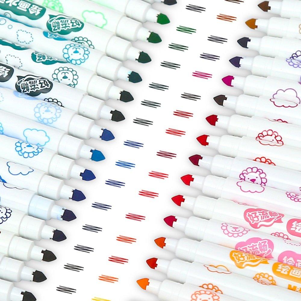 Rotulador de Acuarela - Pluma de Dibujo de 20 20 de Colores Pincel de Acuarela de Tinta Brillante Pincel de Acuarela 2b9652