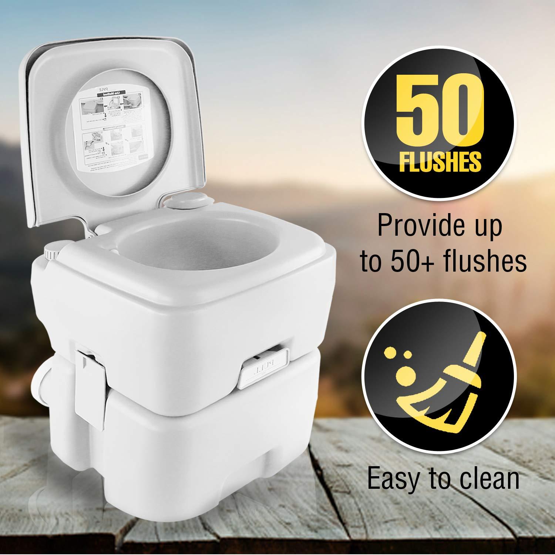 SereneLife Relax AZSLCATL120 Portable Toilet