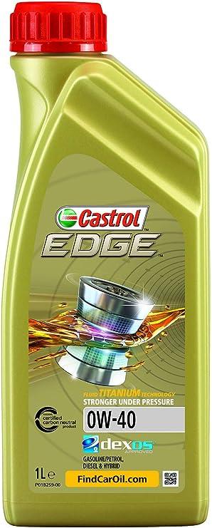 Castrol 15337f Edge Titanium Fst 0w 40 1l Auto