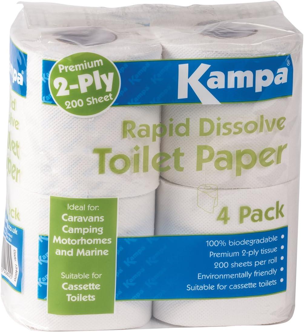 Siehe Beschreibung Schnell Auflösendes 100 Biologisch Abbaubares Toilettenpapier Campingtoilette Klopapier Reisetoilette Wohnmobil Wc Abbaubar Sport Freizeit