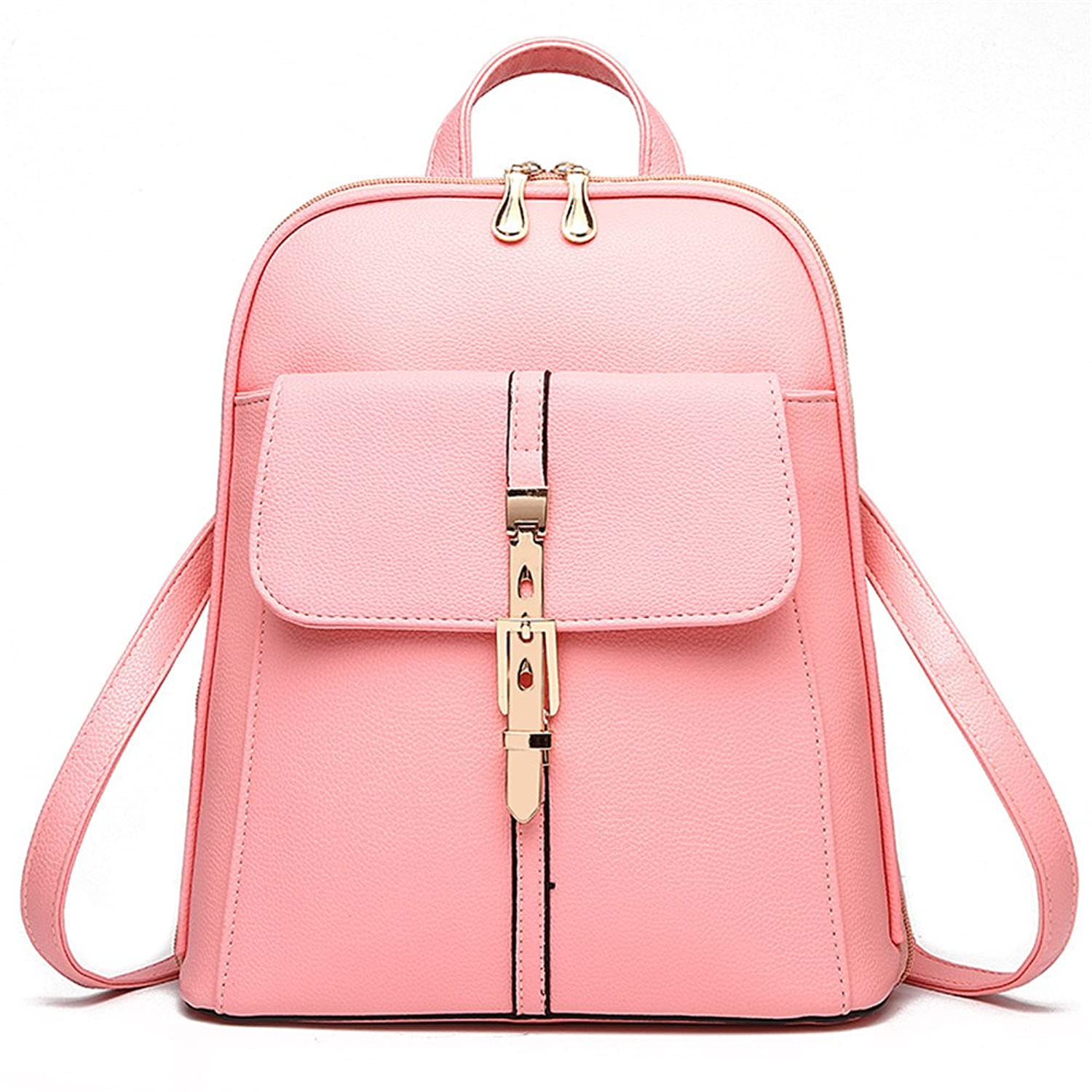 H.TAVEL@new Fashion Women Girl Leather Mini School Bag Travel Backpack Rucksack Shoulders Bag Satchel