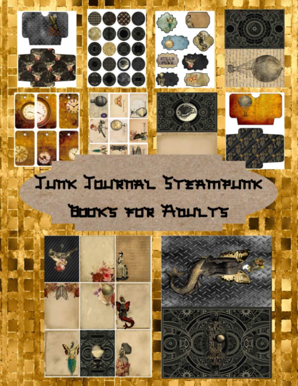 Steam Punk Digital Ephemera Kit