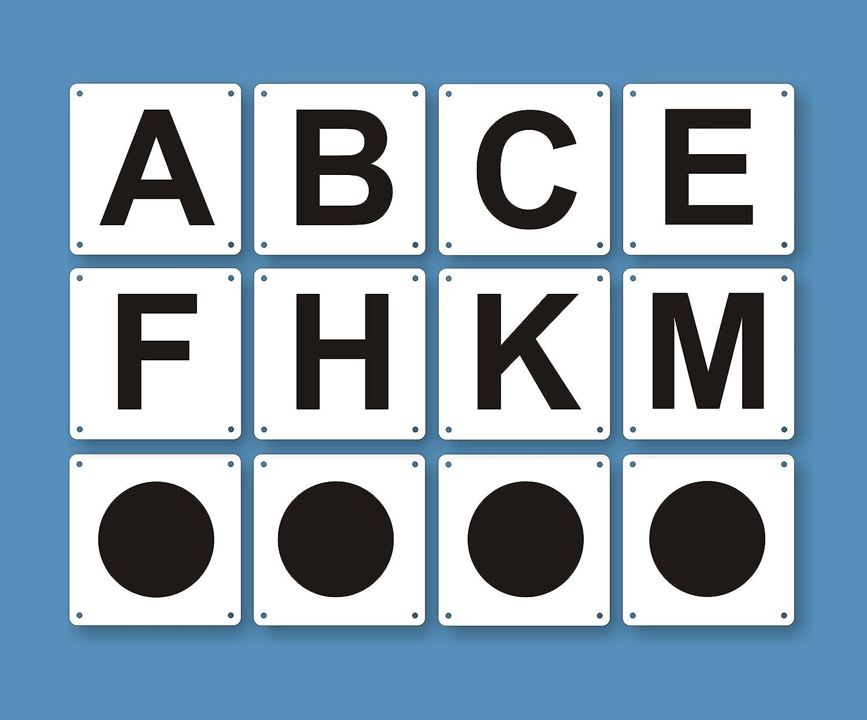 8 Bahnpunkte + 4 Zirkelpunkte für Reitplatz und Halle - 20 x 40 m Dressurviereck - verschiedene Größen | Aluverbund oder Kunststoff Lausitzwerbung