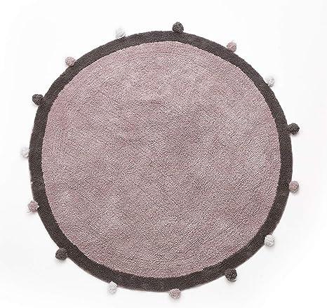 Alfombra redonda de algodón para bebé con pelotas alrededor de los ...