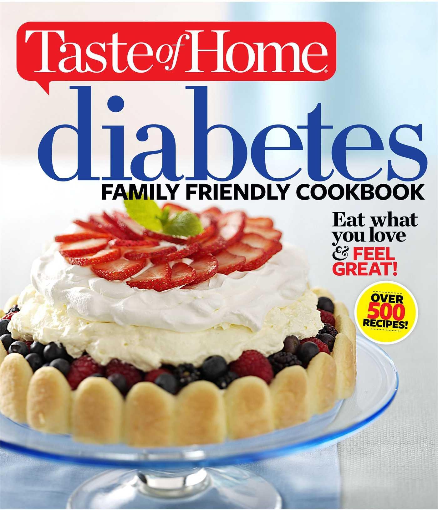 Taste Diabetes Family Friendly Cookbook product image