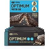 Optimum Nutrition Opti-Lean Meal Replacement Chocolate Brownie Bar ...