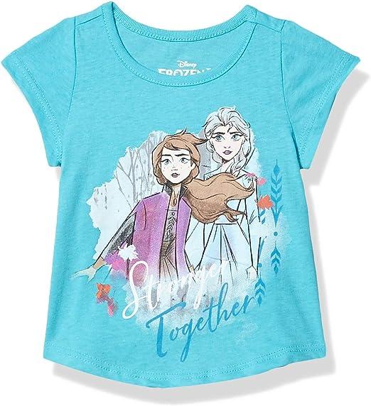 dise/ño de Frozen Camiseta de manga corta para ni/ña