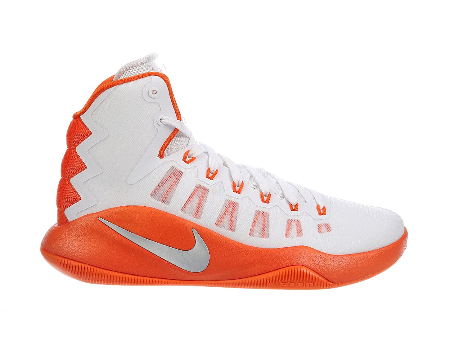 hot sale online 14ebd 2ee75 Nike Mens Hyperdunk 2016 TB Promo Zoom Basketball Shoes White 18 Medium (D)