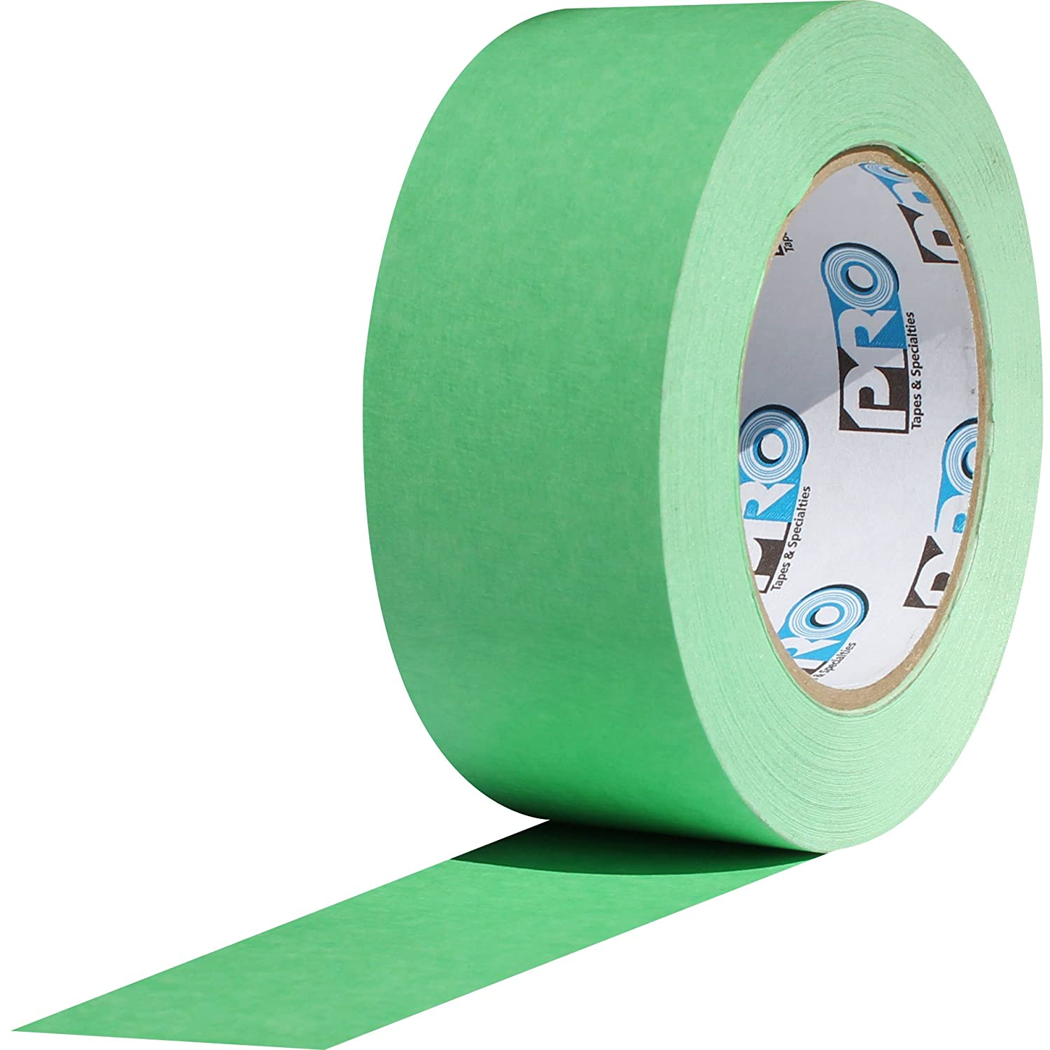 "ProTapes Pro Scenic 708 Crepe Paper 8 Day Easy Release Painters Masking Tape, 60 yds Length x 3/4"" Width, Green (Pack of 1)"