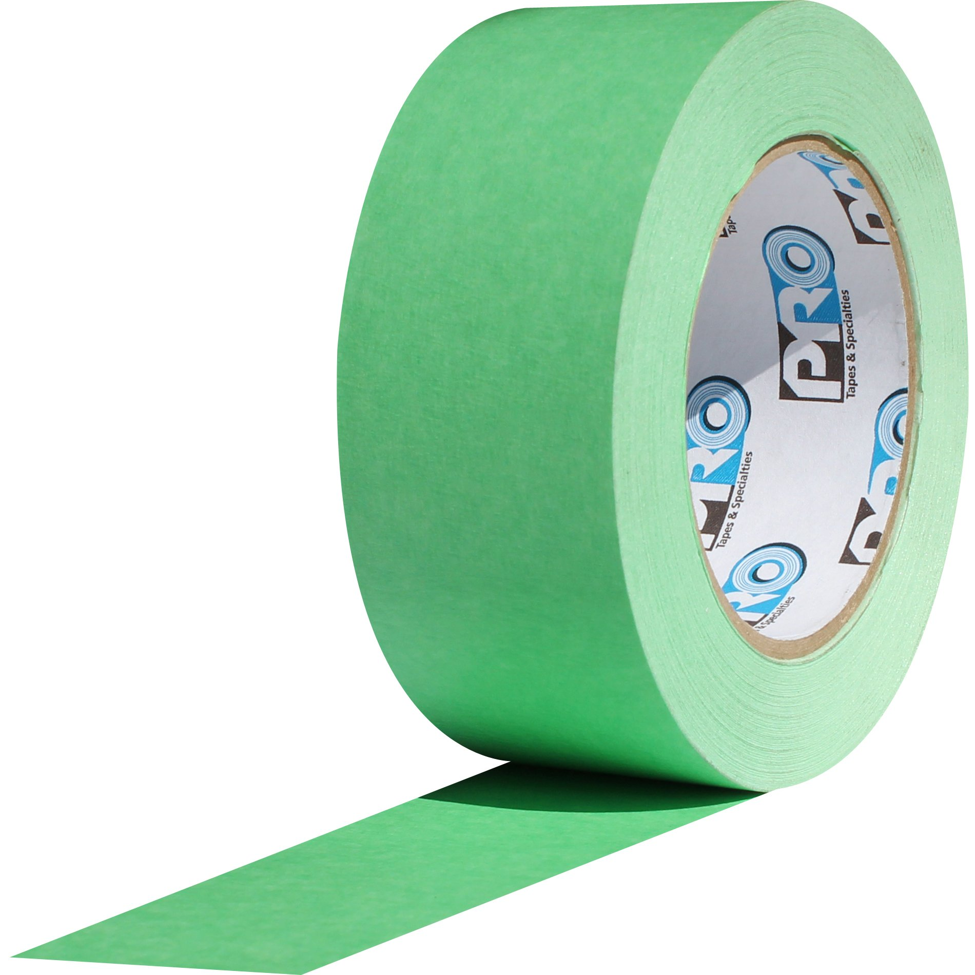 ProTapes Pro Scenic 708 Crepe Paper 8 Day Easy Release Painters Masking Tape, 60 yds Length x 2'' Width, Green (Pack of 1)
