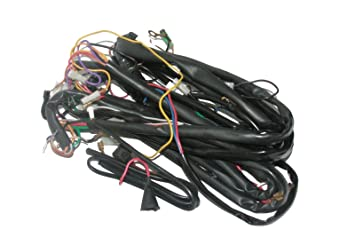enfield county 12v wiring loom harness vespa vbb sprint super rally rh amazon co uk Cloth Wire Loom Hot Rod Wire Looms for Doors