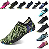 Lauwodun Women Men Water Shoes Barefoot Quick Dry Aqua Sock for Beach Surfing Yoga Running Exercise